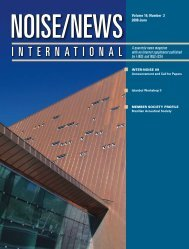 Volume 16, Number 2, June, 2008 - Noise News International