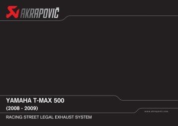 YAMAHA T-MAX 500 - Parts World