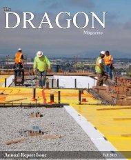 download the 2013 Fall Dragon magazine - Bishop O'Dowd High ...