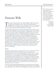 Domestic Wells - Utton Transboundary Resources Center