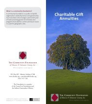 Charitable Gift Annuities - The Community Foundation of Muncie ...