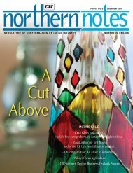 Northern Notes - December 2010 - CII