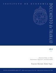 Download PDF - Instituto de Economía - Pontificia Universidad ...