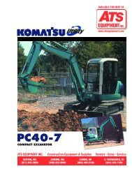 PC40-7 - ATS Equipment