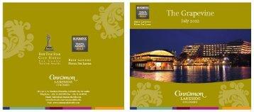 Download Grapevine July 2012 - Cinnamon Hotels & Resorts