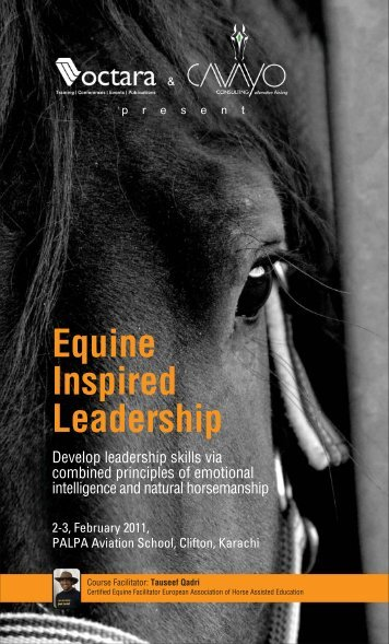 Equine Inspired Leadership - Octara.com