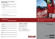 Kostenersätze Feuerwehr - HEYDER + PARTNER Gesellschaft für ...