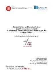 Dokumentation und Kommunikation des Bewohnerinnenwillens in ...