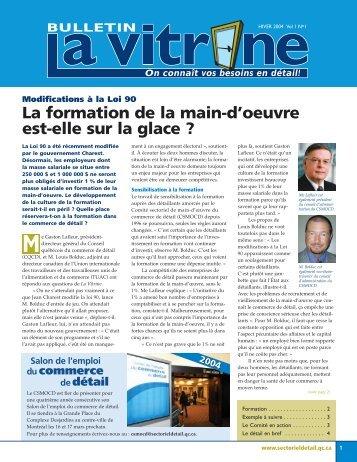 La Vitrine vol. 1, no 1 - Détail Québec