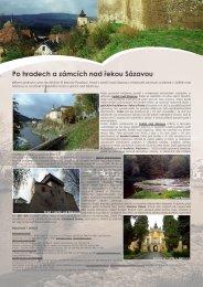 Po hradech a zámcích nad řekou Sázavou - Extranet