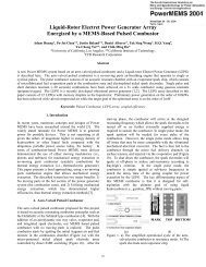 Liquid-Rotor Electret Power Generator Array Energized by a MEMS ...