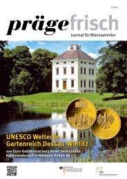 Gartenreich Dessau-Wörlitz - Verkaufsstelle für Sammlermünzen der ...