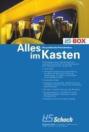 Kasten im Alles Die praktische Pritschenbox - HS Schoch