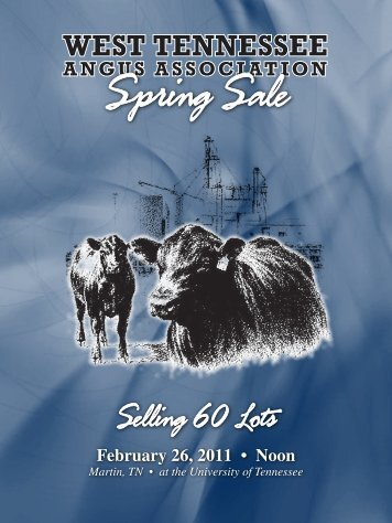 Selling 60 Lots - Angus Journal