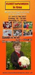 Flyer Muttertagsmarkt 2012 zum Download - KUNSThandWERK in ...