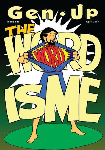 MY WORD. - TFI Online