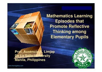 Download - NIE Mathematics & Mathematics Education