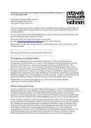 Nr.10 / Dezember 2010 - Netzwerk Frankfurt für gemeinschaftliches ...