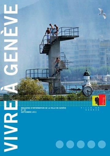 Vivre à Genève N° 42 - Ville de Genève