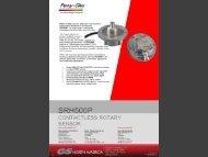 Sensor Rotary SRH500 Data Sheet - GSNA.com