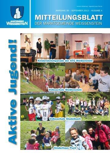 Mitteilungsblatt - Gemeinde Weißenstein