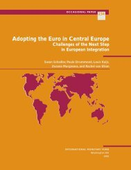 Adopting the Euro in Central Europe — Challenges of the Next Step ...