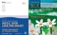Spring 2011 - Drake University