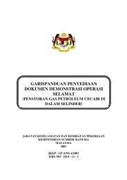 3. Garis Panduan bagi Penyediaan Dokumen Demonstrasi ... - Dosh