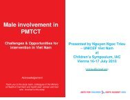 Male Involvement in PMTCT - The Coalition for Children Affected by ...