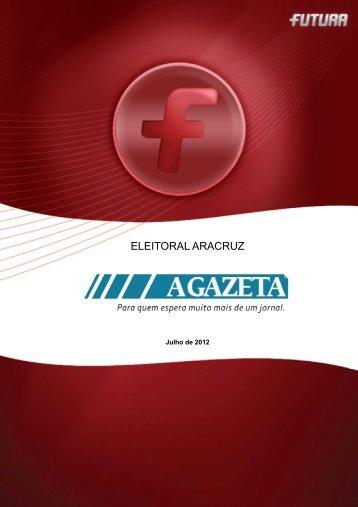Pesquisa Eleições ARACRUZ - FuturaNet
