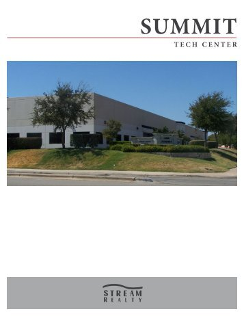 summit tech center - Stream Realty Partners