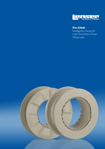 Fix-Click - Lenser Filtration GmbH + Co.