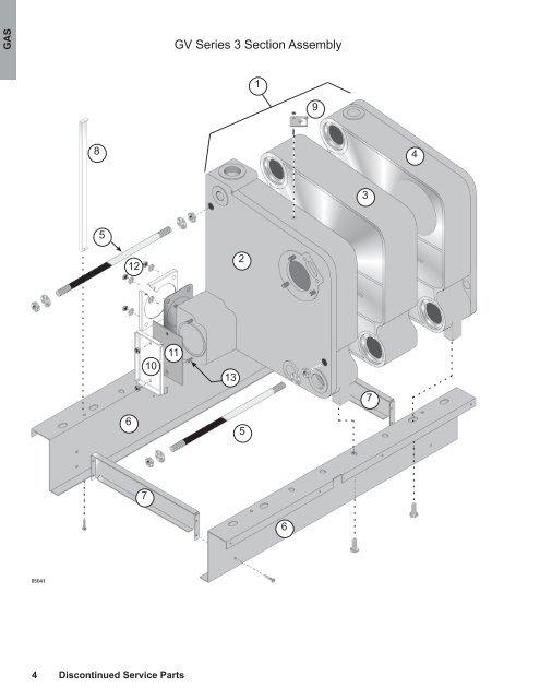 HVAC Controls New Weil Mclain Burner Replacement Kit 382-200