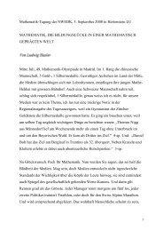 Mathematik-Tagung der NWEDK, 5. September 2008 ... - WOLFsWEB