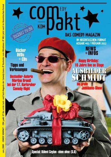 Magazin - Wir sind Comedy - Comedy kompakt!