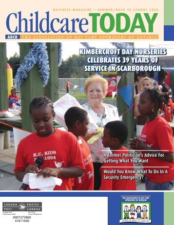 kimbercroft day nurseries celebrates 39 years of service in ...