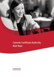 Root Keys - SSL Certificate