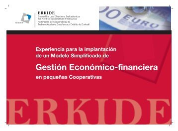 Gestión Económico-financiera - Erkide