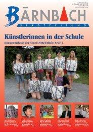 Künstlerinnen in der Schule - Bärnbach