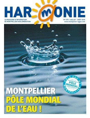 Montpellier pôle Mondial de l'eau ! - Montpellier Agglomération