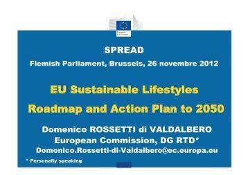 Domenico Rossetti di Valdalbero, Principal Administrator at the EC ...