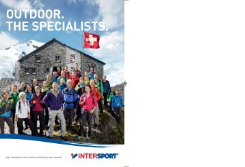 Download Outdoor Prospekt 2012 - Tower Sports Rapperswil