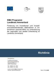 speziell KMU - Landkreis Ammerland