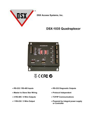 Information dsx access systems inc dsx 1035 quadraplexor dsx access systems inc cheapraybanclubmaster Image collections