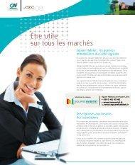 Être utile sur tous les marchés - Crédit Agricole Loire Haute Loire