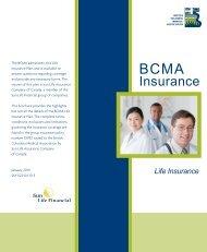 BCMA-Life Insurance - British Columbia Medical Association