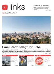 links 135, April 2013 - SP Schweiz