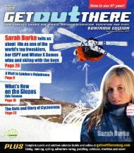 November / December 2007 - Get Out There
