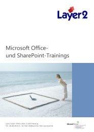 Microsoft Office- und SharePoint-Trainings - Layer 2 GmbH