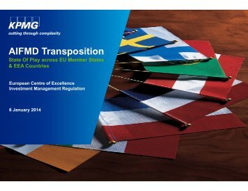AIFMD Transposition across EU Member States – 6 ... - Funds People